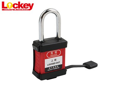 Rubber Covered Dustproof Safety Padlock P38SR1